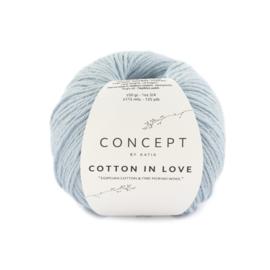 Katia Concept Cotton in Love 65 - Licht hemelsblauw