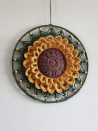 Haakpakket Funny Mandala Sunflower