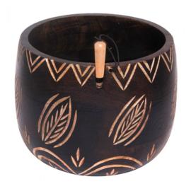 KnitPro Yarn bowl bladeren