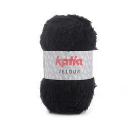 Katia Velour 58 - Zwart