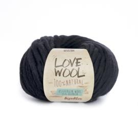 Katia Love Wool 108 - Zwart