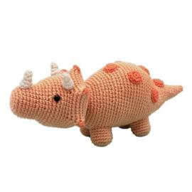 HardiCraft Haakpakket amigurumi Dino Triceratops