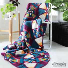 Scheepjes Janie Crow kit Royal Garden Colour Crafter
