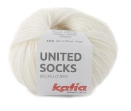 Katia United Socks 6 - Wit