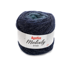 Katia Melody Star 407 - Turquoise-Donker blauw