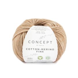 Katia Concept Cotton merino Fine 81 - Licht bruin