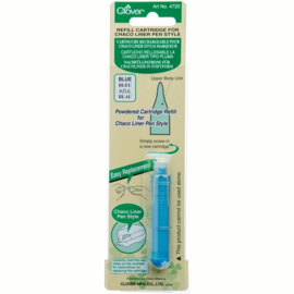 Clover Refill Cartridge Chaco Liner Pen Blue