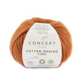 Katia Concept Cotton merino Fine 90 - Oranje
