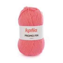 Katia Promo Fin 595 - Zeer donker bleekrood