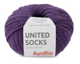 Katia United Socks 13 - Parelmoer-lichtviolet