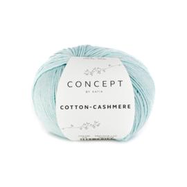 Katia Concept Cotton-Cashmere 73 - Waterblauw