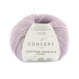 Katia Concept Cotton merino Fine 87 - Medium paars