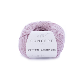 Katia Concept Cotton-Cashmere 64 - Licht medium paars