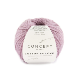 Katia Concept Cotton in Love 53 - Bleekrood