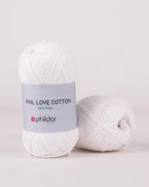 Phildar Love Cotton Blanc
