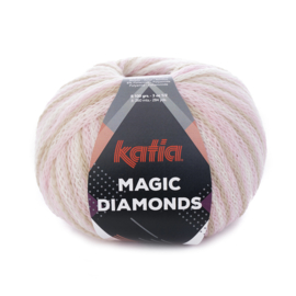 Katia Magic Diamonds 54 - Bleekrood-Ecru-Beige