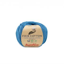 Katia Fair Cotton 38 - Groenblauw