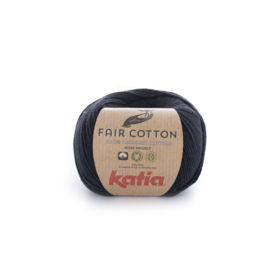 Katia Fair Cotton 2 - Zwart