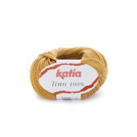 Katia Lino 100% 31 - Mosterdgeel