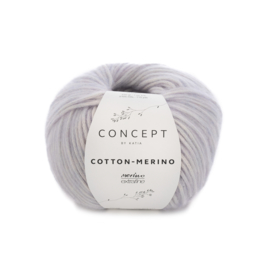Katia Concept Cotton - Merino 128 - Medium paars