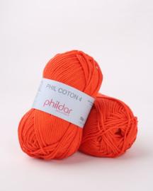 Phildar Coton 4 Vermillon