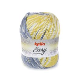 Katia Easy Jacquard 305 - Blauw-Geel