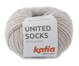 Katia United Socks 7 - Steengrijs