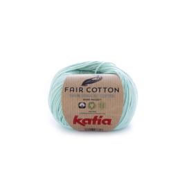 Katia Fair Cotton 29 - Witgroen