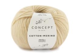 Katia Concept Cotton - Merino 136 - Medium beige