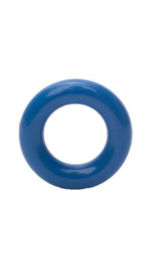 Durable plastic ringetjes donkerblauw 20 mm (215)