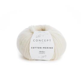 Katia Concept Cotton - Merino 100 - Ecru