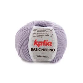 Katia Basic Merino 77 - Licht lila