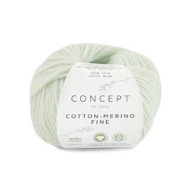 Katia Concept Cotton merino Fine 84 - Witgroen
