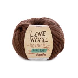 Katia Love Wool 126 - Bruin