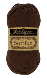 Scheepjes Softfun 2623 Chocolate