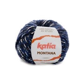 Katia Montana 80 - Nachtblauw-Donker blauw
