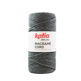 Katia Macramé Cord 103 - Donker grijs