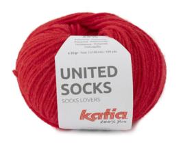 Katia United Socks 17 - Rood