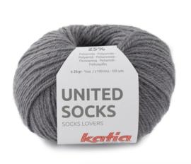 Katia United Socks 9 - Donker grijs