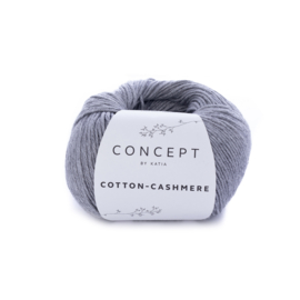 Katia Concept Cotton-Cashmere 59 - Grijs