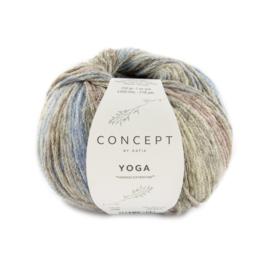 Katia Concept Yoga 208 - Blauw-Bruin