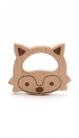 Durable bijtring hout vos