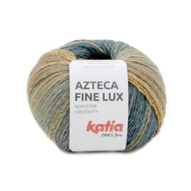 Katia Azteca Fine Lux 410 - Groenblauw-Bruin-Kaki