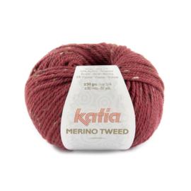 Katia Merino Tweed 315 - Framboosrood