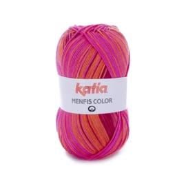 Katia Menfis Color 100 - Koraal-Oranje