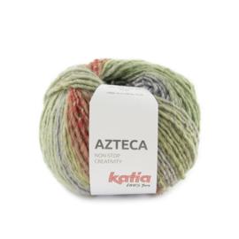 Katia Azteca 7881 - Licht groen-Licht paars