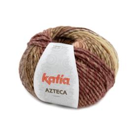 Katia Azteca 7877 - Bruin-Oranje-Ecru-Lila
