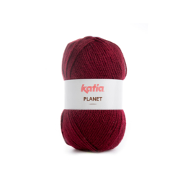 Katia Planet 3972 - Donker wijnrood