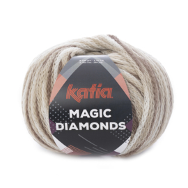 Katia Magic Diamonds 50 - Bruin-Ecru