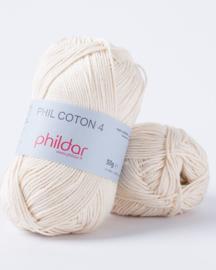 Phildar Coton 4 Ecru